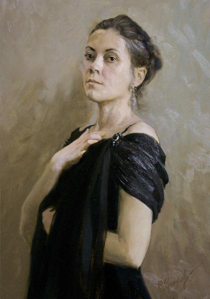 Виталий Графов. Портрет Е.Мелентьевой