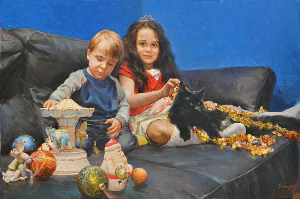 Vitaly Grafov. Children's portrait