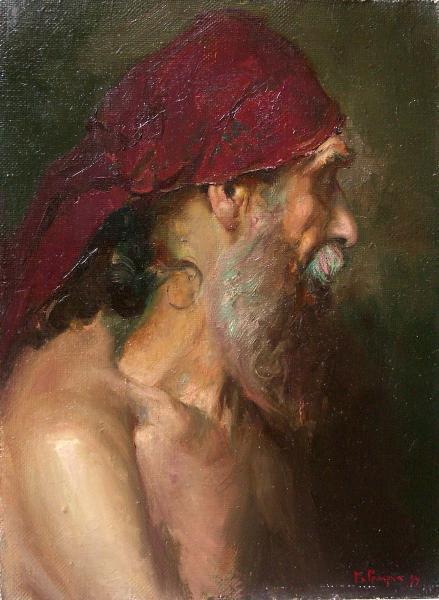 Виталий Графов. Голова старика