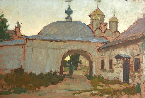 Виталий Графов. Покровский монастырь.Суздаль.