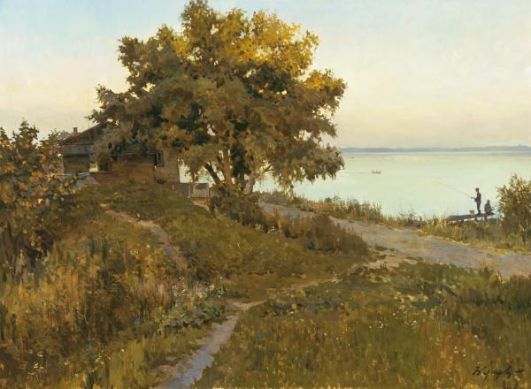 Виталий Графов. На берегу озера Неро