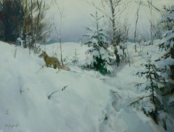 Vitaly Grafov. Rabbit trail
