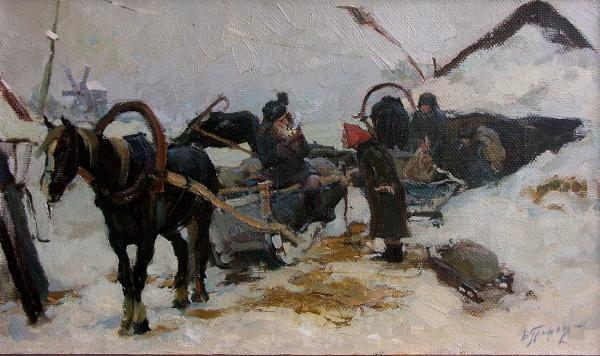 Виталий Графов. На мельницу