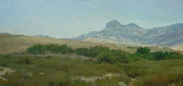 Vitaly Grafov. Valley of the mountains