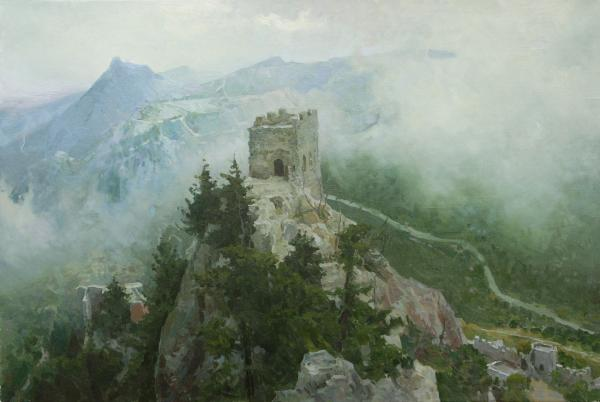 Vitaly Grafov. The Castle Of St. Hilarion.