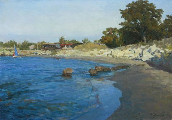 Vitaly Grafov. Beach Sardunya.