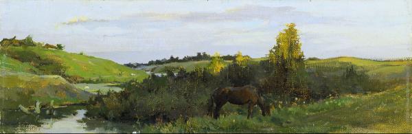 Vitaly Grafov. Evening