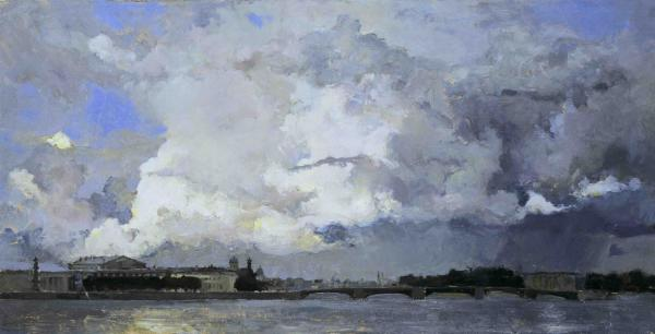 Vitaly Grafov. The Sky of St. Petersburg.
