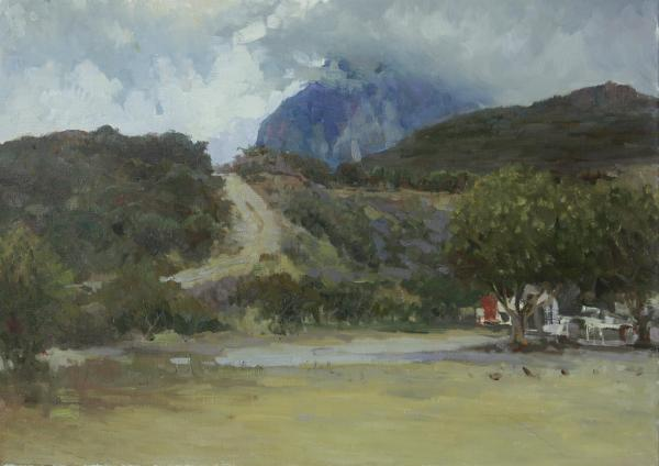 Vitaly Grafov. At the foot of the mountains