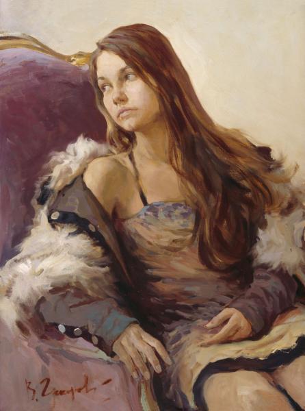 Виталий Графов. Женский портрет