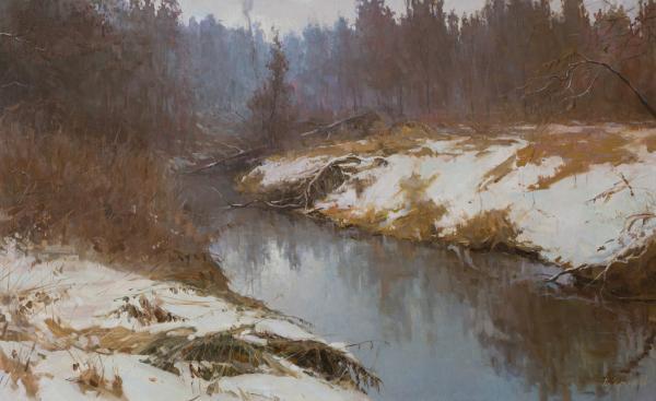 Vitaly Grafov. The small river Velya