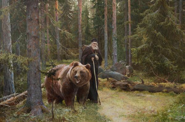 Виталий Графов. Преподобный Серафим