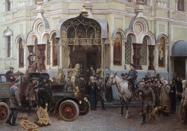 Виталий Графов. Закрытие Московского подворья Валаамского монастыря