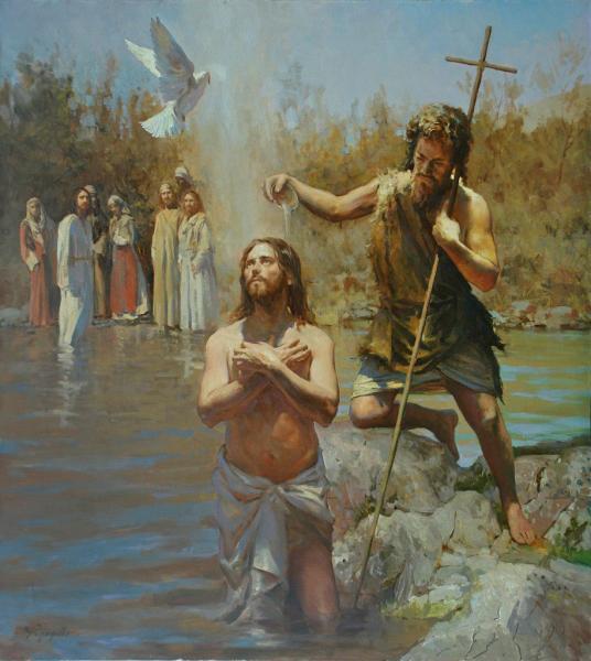 Виталий Графов. Крещение