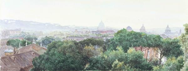 Виталий Графов. Рим.Вид с Палатинского холма