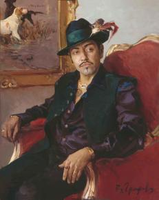 Vitaly Grafov. Portrait of Yuriy Maltsev.