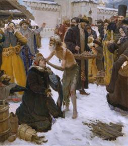 Виталий Графов.  Московский чудотворец Блаженный Василий