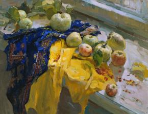 Vitaly Grafov. Apples.