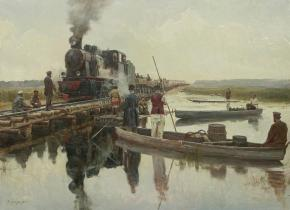 Vitaly Grafov. The construction of the railway