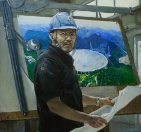 Виталий Графов. Портрет инженера Нань Жэньдун