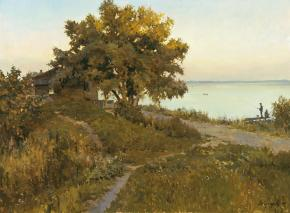 Vitaly Grafov. On the shores of lake Nero