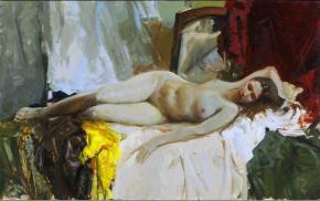 Vitaly Grafov. Bared with a mirror