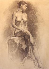 Vitaly Grafov. portret-grafika-sakas