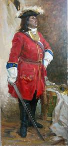 Vitaly Grafov. The grenadier