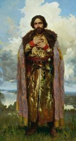 Vitaly Grafov. Saint Daniel of Moscow