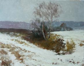 Vitaly Grafov. First snow