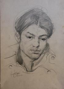 Vitaly Grafov. Man\'s portrait