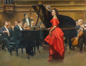 Vitaly Grafov. Concert of Anna Netrebko