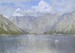 Vitaly Grafov. Bay of Kotor.