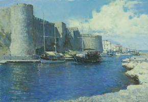 Vitaly Grafov. The old fortress. Kyrenia