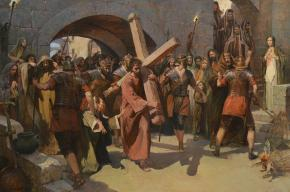 Vitaly Grafov. Carrying of the cross