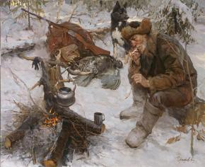 Vitaly Grafov. On hunting