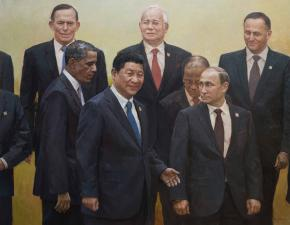"Vitaly Grafov. ""Xi Jingping, APEC Summit in Beijing"""
