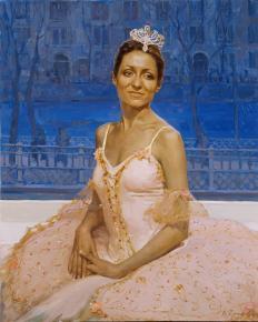 Vitaly Grafov. Prima Ballerina Valeria Vasilyeva.