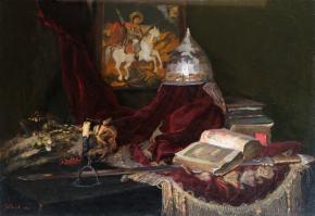 Виталий Графов. Исторический натюрморт.